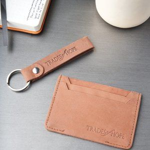 handmade in India-Key & Credit Card Leather Holder